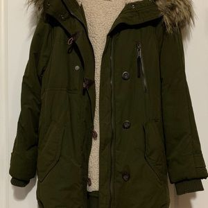 2b1c7b40 Women Zara Faux Fur Jacket on Poshmark
